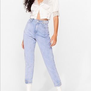 ⭐️Host Pick⭐️ Nasty Gal Button mom jeans